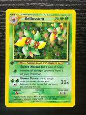 Bellossom 1st Edition Holographic Pokémon Card Neo Genesis 3/111