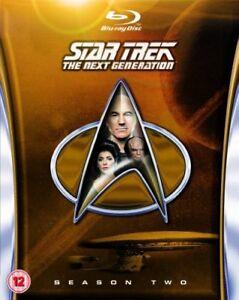 Star Trek: The Next Generation - Season 2 [Blu-ray] [1988] [Region Free] [DVD]