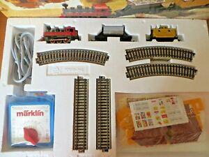Märklin Starter Set 2921 H0 Texas & Western with Transformer Kit Track & Freight
