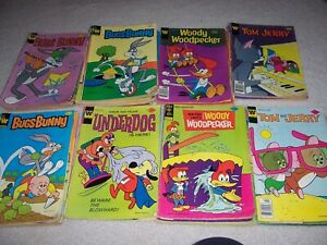 Vintage Comic Lot Of 176 Whitman/Gold Key/ARCHIE, Looney Tunes, Scooby +COMICS,