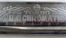 Tombo Unichromatic Harmonica 48 sounds Sliding full chromatic