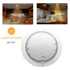 CARAVAN CAMPER TRAILER RV BOAT CABIN LED ROOF LIGHTS 220MM DIAMETER 12 VOLT NEW