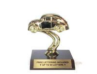 Car Trophy- VW Bug- Vintage- Cruisin'- Desktop Series- Free Lettering