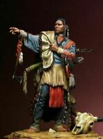 1/24 75mm Resin Figure Model Kit Sioux Native American Warrior Scout Unpainted