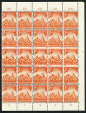 Reich 755 postfris veldeel van 25 zegels (1)