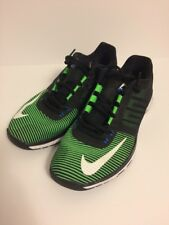 Nike Zoom Speed TR3 Mens Running Shoes 804401-310 Black/Green/White, US Size 8.5