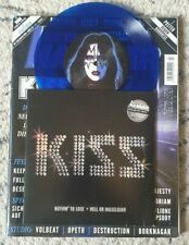 """KISS - RARE GERMAN 7"""" with ROLLING STONE - BLUE VINYL"""