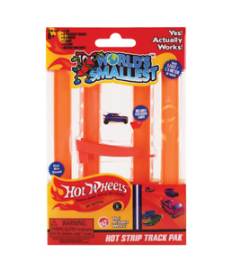 World's Smallest Hot Wheels Hot Strip Track Pack Miniature Edition