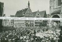 Dinkelsbühl - Tausendjahrfeier - Huldigung der Kinder - um 1925       V 2-8