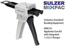 MixPac DMA50 Dispenser for 50ml Epoxy & Adhesive Cartridges-1:1 & 2:1 Ratio