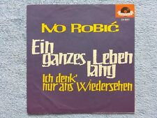 """Vinyl-7""""-Cover # only Cover # Ivo Robic # Ein ganzes Leben lang # 1962 # m-"""