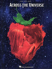 Across The Universe Music From The Motion Picture Play Piano Guitar Music Book