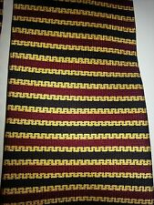 Raphael Silk Yellow Red Navy Stripe Tie EUC