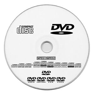 50x CD or DVD disc with Duplication