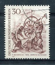 ALLEMAGNE BERLIN, 1969, timbre 308, METIERS, LA FORGE de BORSIG, oblitéré