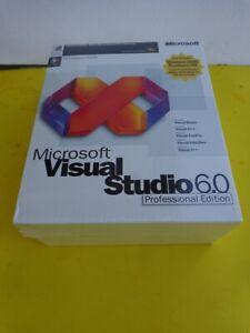 Brand New: Microsoft Visual Studio 6.0 Professional Edition Retail (659-00390)