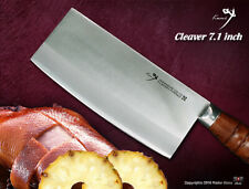 Handmade Japanese VG-10 Steel Cleaver 7.1 in Vegetables Chopping Kitchen Knife