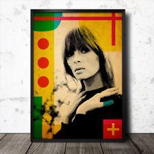 Nico Velvet Underground Music Icon Art Poster Andy Warhol