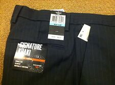 Dockers Signature Khaki Straight Fit D2 Flat Front Pants Size W29xL32, Gray NWT