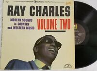 Ray Charles Modern Sounds In Country And Western Music Vol 2 Vinyl Record LP VG+