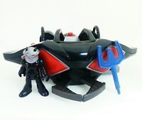 Imaginext Black Manta Sub And Figure Missing 1 Missile