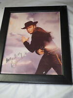 "Genuine ""Marlon Brando"" Autographed colored Photo 8"" x 10"" In frame"