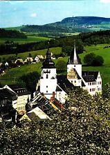 Schwarzenberg im Erzgebirge mit Schloß  ,Ansichtskarte, ungelaufen