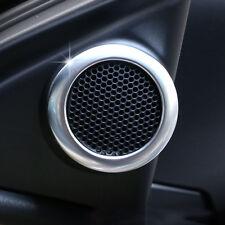 Fit For Toyota Corolla Altis 14-16 Chrome Door Stereo Speaker Collar Cover Trim