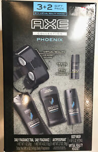 AXE COLLECTION Phoenix Gift Pack with Virtual Reality Headset, Phoenix, 5 ct NEW