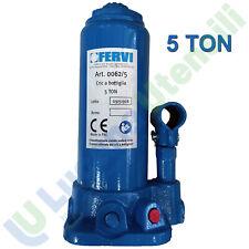 Fervi 0062/5 Cric a Bottiglia 5 Ton 1052715