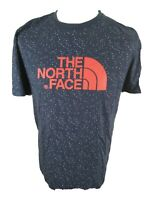 Mens The North Face Paint Speckle T Shirt Blue Large 42 Chest