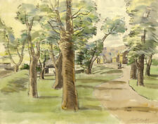 Walter Cristall - Mid 20th Century Watercolour, Country Path