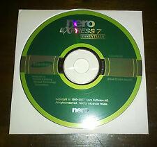 "Strumenti/Utility/Driver/Cd/DVD ""NERO EXPRESS 7 ESSENTIALS SAMSUNG VER.7.5.9.1"""