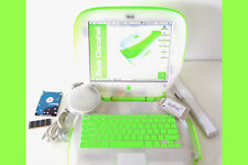 "Apple iBook Clamshell G3 . S.E. DVD ""Clear"" KEY LIME 467MHz + 60GB HD ⭐️⭐️⭐️⭐️⭐"