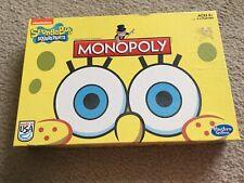 Monopoly Nickelodeon Sponge Bob Squarepants Edition Property Trading Game