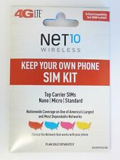 Net10 - Sim Card Kit for Unlocked Gsm and Cdma Cell Phones/Ua9-3/12