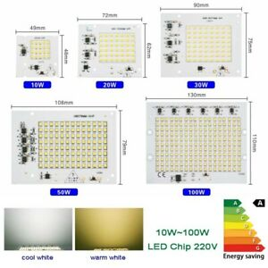 Led chip SMD 10w 20w 30w 50w 100w floodlight integrated bulb 220V 240V