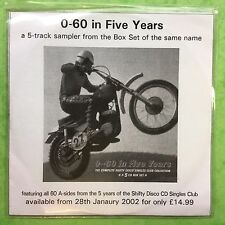 0-60 in Five Years - 5 Track Sampler - Poly Sleeve - Promo CD (CBX342)