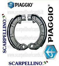 COPPIA GANASCE FRENI VESPA PX 80 cc -PAIR OF SHOES- PIAGGIO 647377 4144504