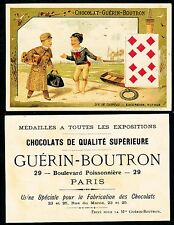 Chromo Guérin-Boutron - Jeu de Cartes - Dix de Carreau