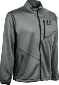 Fly Racing Mid-Layer Jacket | Arctic Grey | Choose Size
