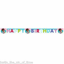 DOC MCSTUFFINS Girls Birthday Party Decorations JOINTED LETTER BANNER