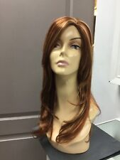 Forever Young SMOOTH OPERATOR Long Straight Wig, 350/30/148 Blonde / Copper red