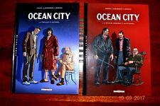 Bd - OCEAN CITY - la série complète en 2 albums EO -