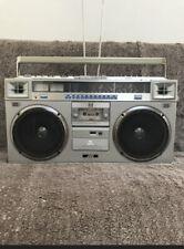 JVC RC-M70W Vintage BoomBox GhettoBlaster, Radio Cassette Recorder - Working