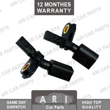2X Abs Speed Sensor For VW Passat Seat Ibiza Audi A1 Skoda FRONT LEFT & RIGHT