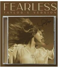 More details for taylor swift signed fearless cd album, taylor's version, pre order. brand new