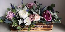 Rustic Wooden Flower Box Wedding Display/Wedding Centrepiece (Customizable)