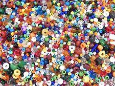 1 Lb Pound Bulk Tiny Seed Beads Assorted Vintage Eclats De Perles Mix 40,000 Lot