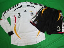 2006 Germany Deutschland Player Formotion Jersey Shirt Trikot L/S Friedrich #3